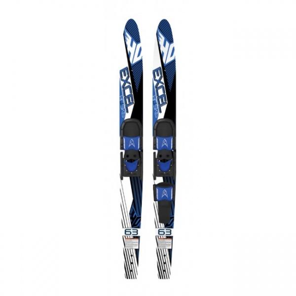 HO Excel Combo Skis w//Horseshoe Bindings