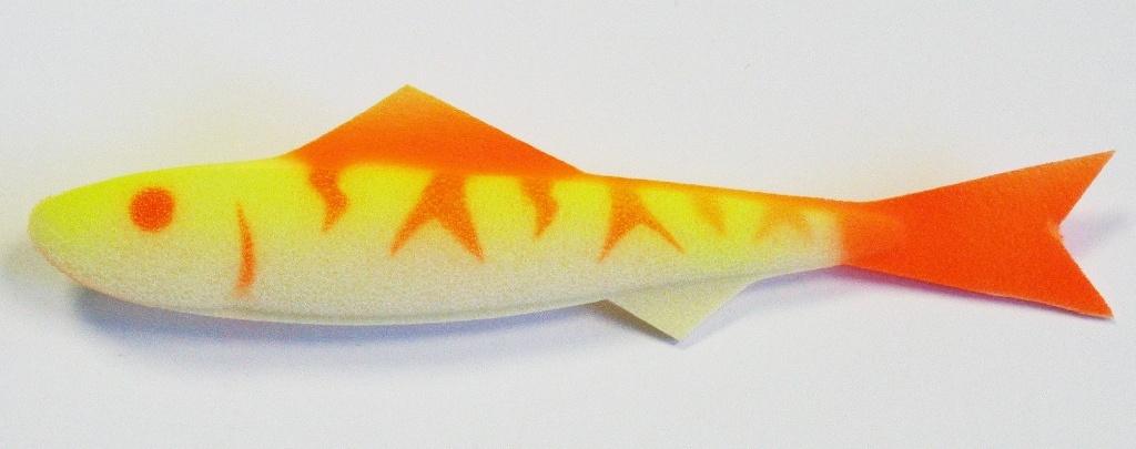 изготовление поролоновых рыбок для рыбалки