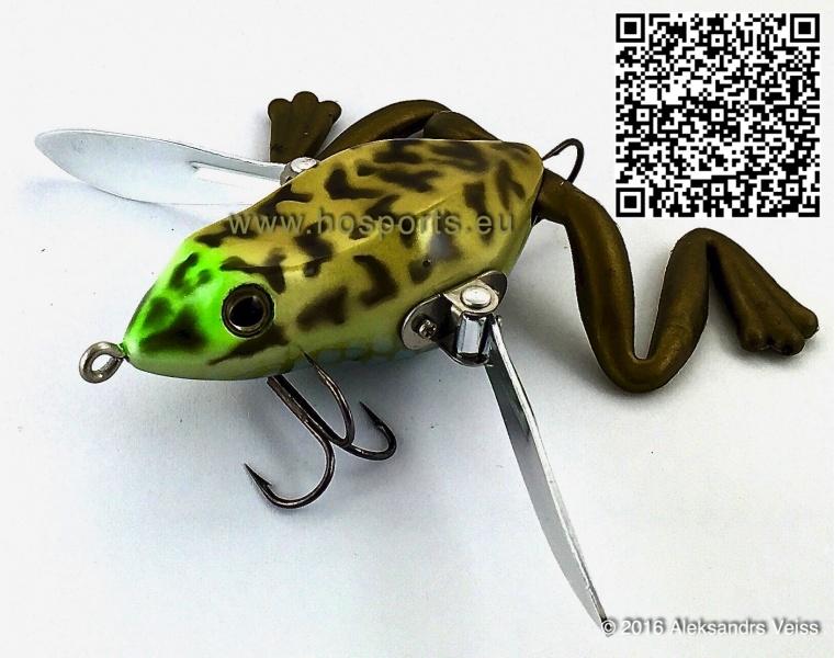Ho Sports Katalog Fishing Lures River2sea Woodn Waddle Frog